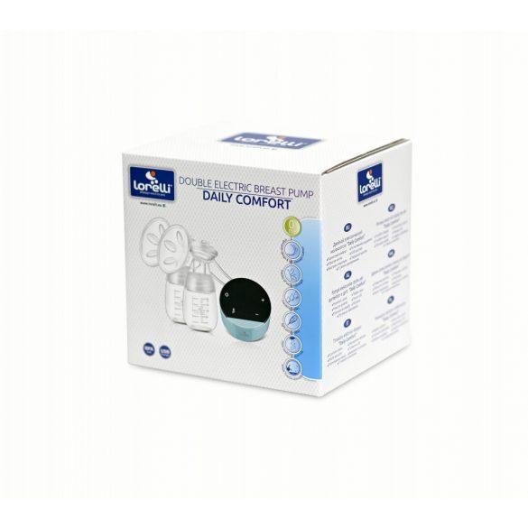 Lorelli dvojitá elektronická odsávačka mlieka - blue